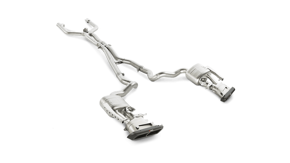 Akrapovic 16-17 Mercedes-AMG C63 W205 Sedan Evolution Link Pipe Set (Titanium) - AUTOcouture Motoring - Exhaust - Akrapovic