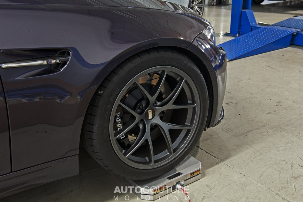 StopTech 14+ BMW M3/M4 (F8X) Rear Big Brake Kit ST-40 Calipers 380x32mm Rotors - AUTOcouture Motoring - Brakes - Stoptech