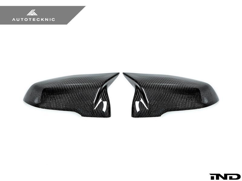 AutoTecknic A90 Supra Carbon Mirror Cover Set - AUTOcouture Motoring - Exterior - AutoTecknic
