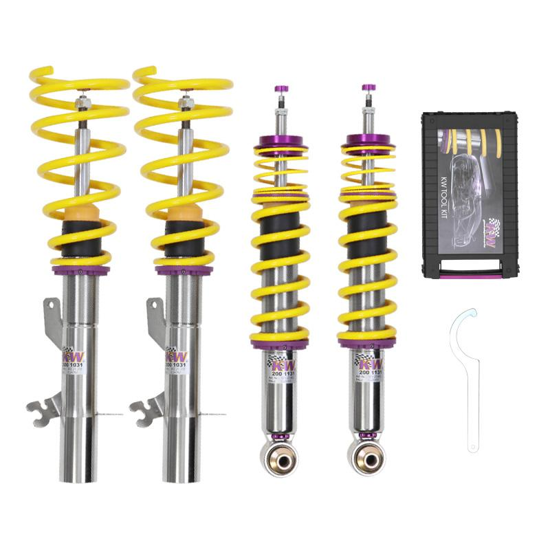 KW Coilover Kit V3 Lamborghini Gallardo (140) LP560-4 - w/ OEM Lift system - AUTOcouture Motoring - Suspension - KW