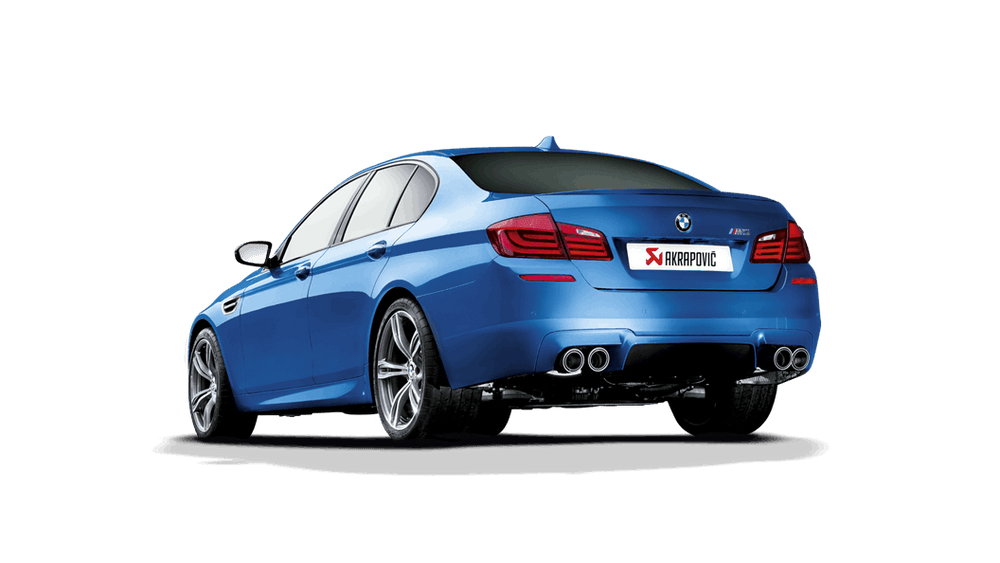 Akrapovic 11-17 BMW M5 (F10) Evolution Line Cat Back (Titanium) w/ Carbon Tips - AUTOcouture Motoring - Exhaust - Akrapovic