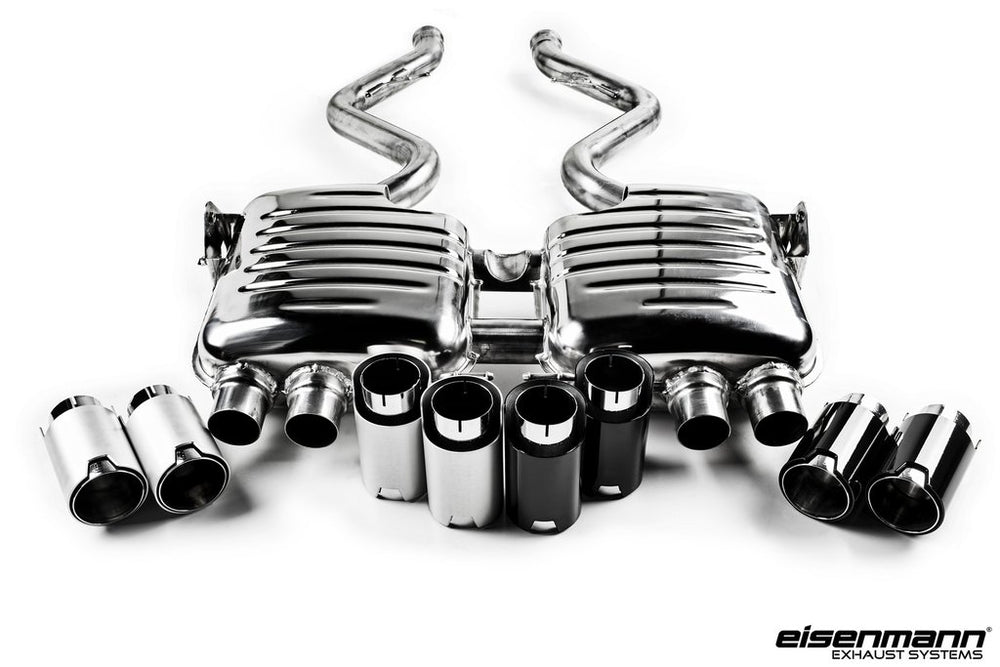 Eisenmann E92 / E93 M3 Performance Exhaust - Limited Release - AUTOcouture Motoring - Exhaust - Eisenmann