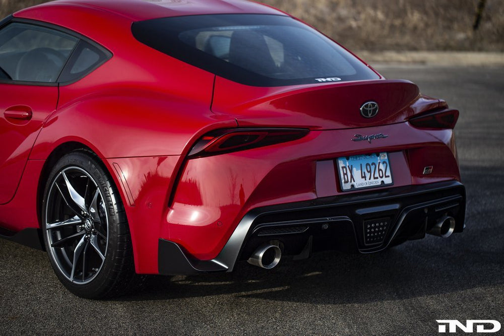 IND A90 Supra Painted Rear Reflector Set - AUTOcouture Motoring - Exterior - IND