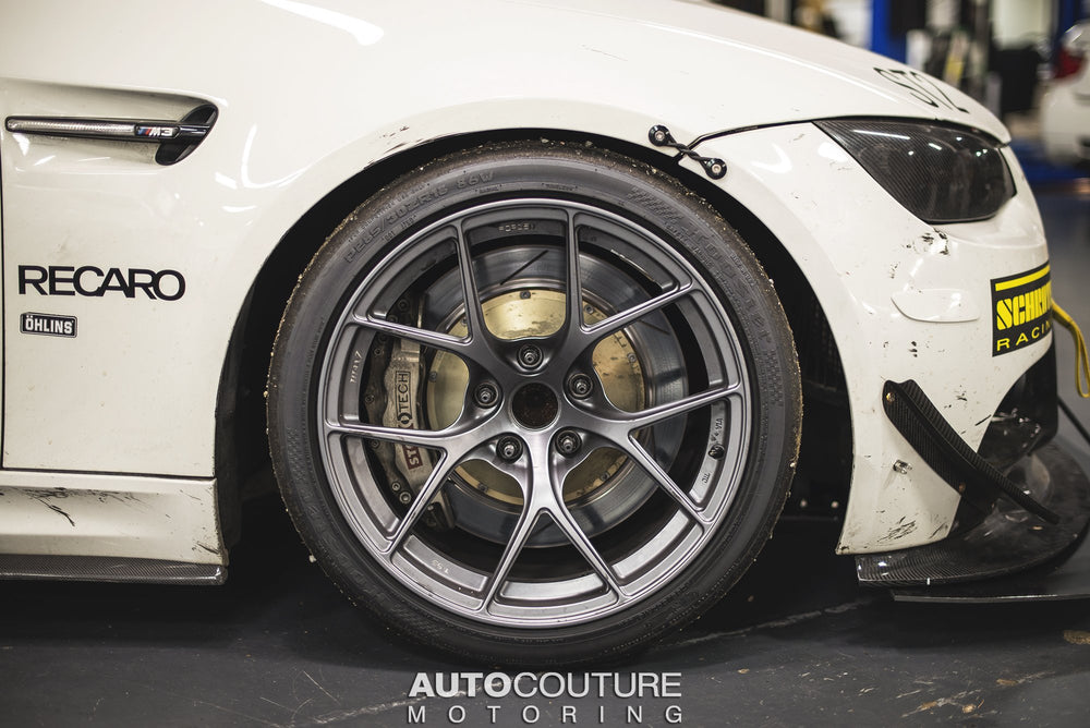 StopTech Big Brake Kit 00-04 BMW M5 Rear ST-40 Caliper Trophy Anodized 355x32mm Rotors - AUTOcouture Motoring - Brakes - Stoptech