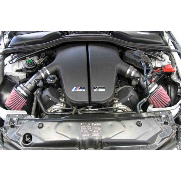 K&N 06-07 BMW M5 5.0L Flat Black Typhoon Short Ram Intake - AUTOcouture Motoring - Intake - K&N Engineering