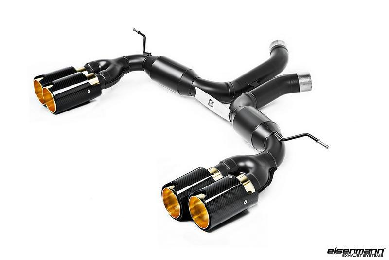 Eisenmann BMW F85 X5M / F86 X6M Race Performance Exhaust - 4x90mm Carbon - AUTOcouture Motoring - Exhaust - Eisenmann
