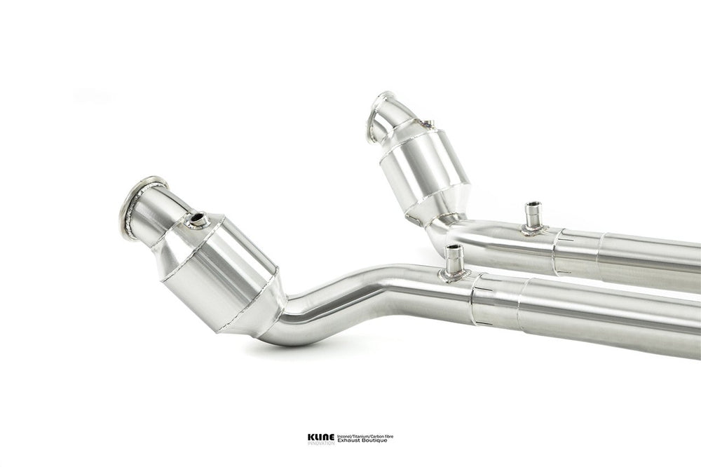 Kline Innovation 200cel Cat pipe Ferrari Portofino - AUTOcouture Motoring - Exhaust - Kline