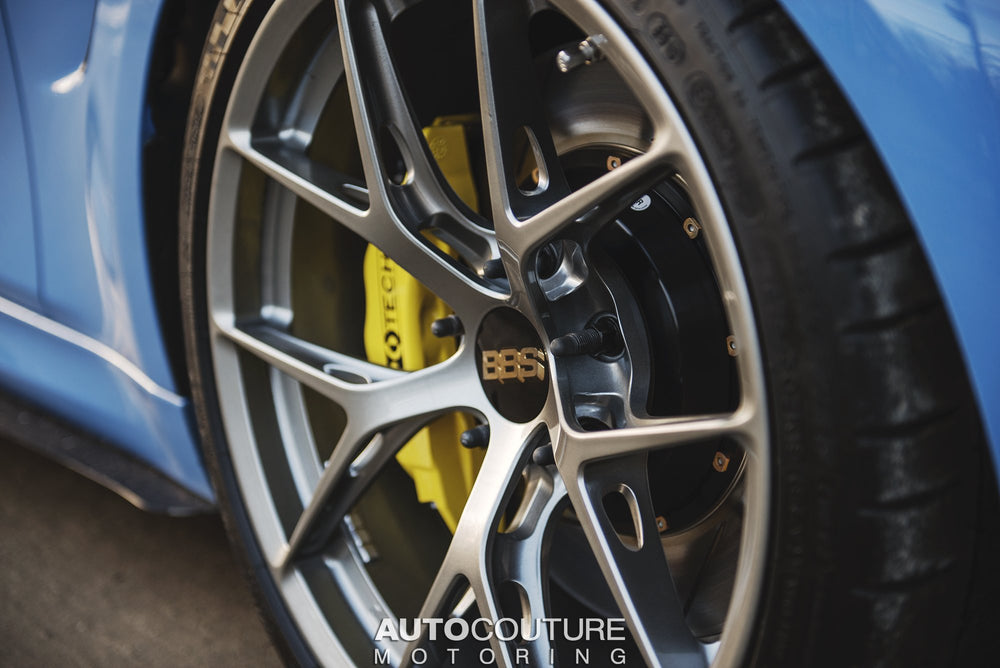 StopTech Big Brake Kit 00-04 BMW M5 Front ST-60 Calipers 355x32mm Rotors - AUTOcouture Motoring - Brakes - Stoptech