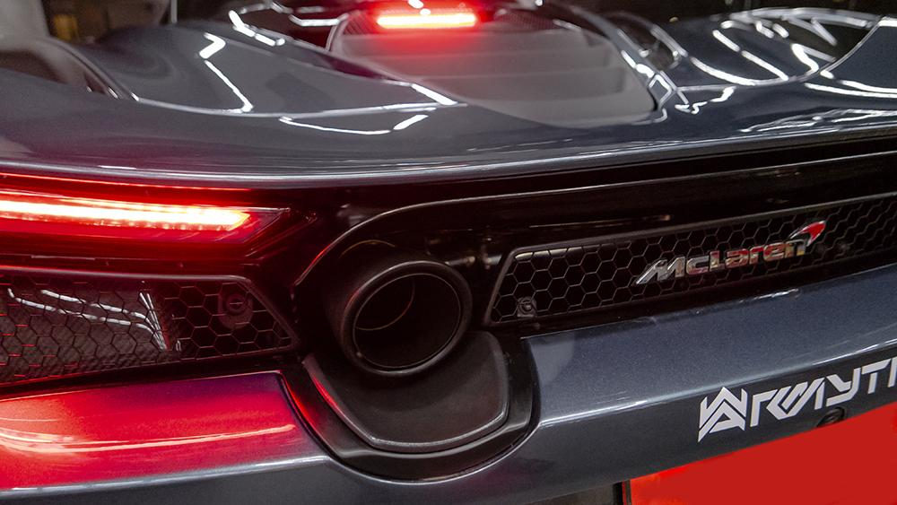 ARMYTRIX Stainless Steel Valvetronic Muffler McLaren 720S 2017-2020 - AUTOcouture Motoring - Exhaust - Armytrix