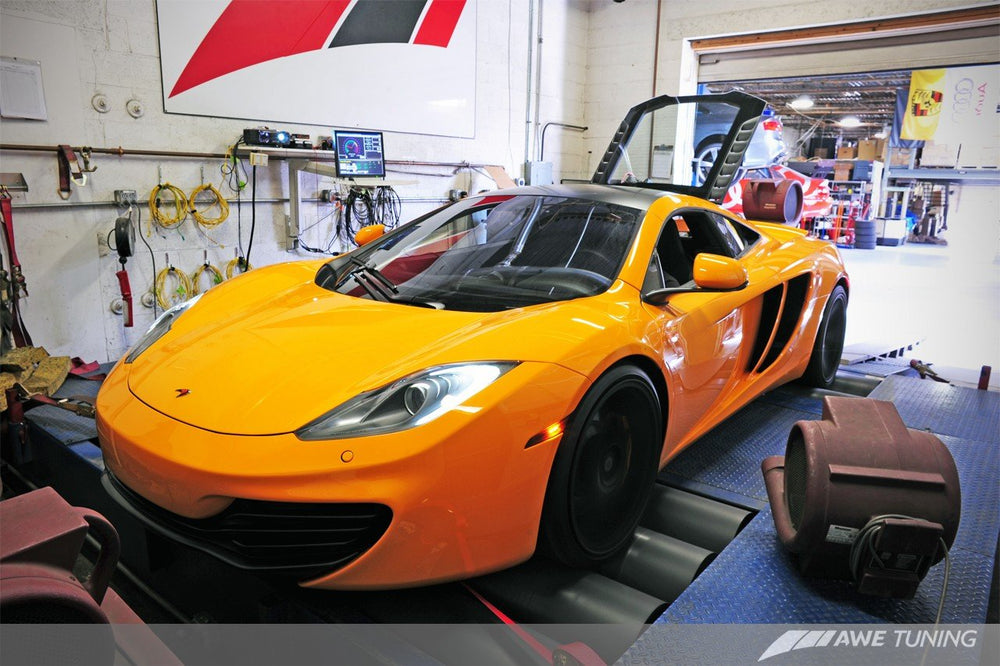 AWE Tuning McLaren MP4-12C Performance Exhaust - Black Tips - AUTOcouture Motoring - Exhaust - AWE Tuning