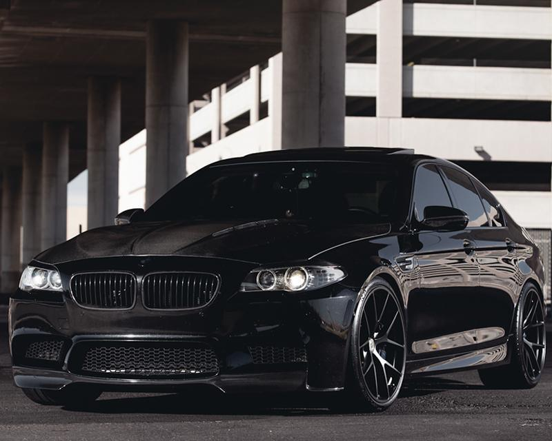 Agency Power Carbon Fiber Hood with Vented Cowl BMW F10 M5 550 535 528 2011+ - AUTOcouture Motoring - Exterior - Agency Power
