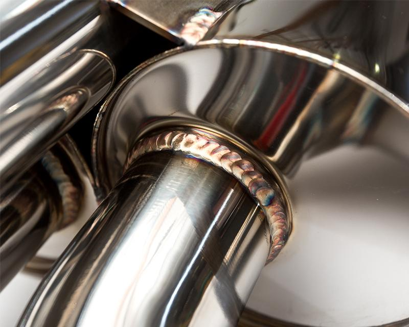 AP BMW E46 M3 Stainless Steel Exhaust w/Ti tips - AUTOcouture Motoring - Exhaust - Agency Power