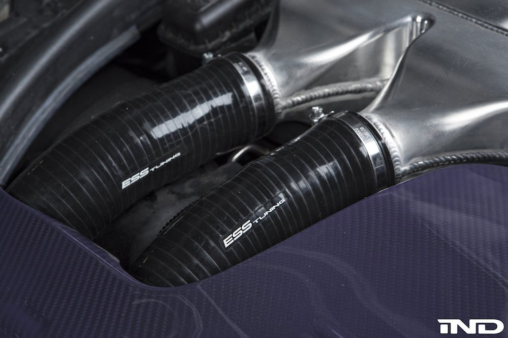 ESS Tuning F8X M3 / M4 Silicone Charge Pipe Set - AUTOcouture Motoring - Engine - ESS Tuning