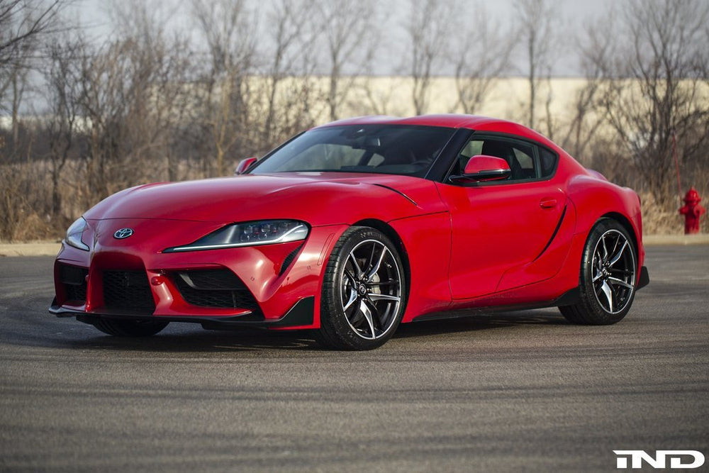IND A90 Supra Painted Front Reflector Set - AUTOcouture Motoring - Exterior - IND