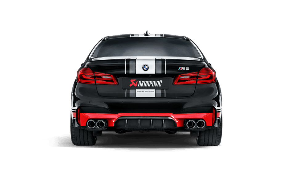 Akrapovic 18+ BMW M5 (F90) Evolution Line Cat Back (Titanium) (Req. Tips) - AUTOcouture Motoring - Exhaust - Akrapovic