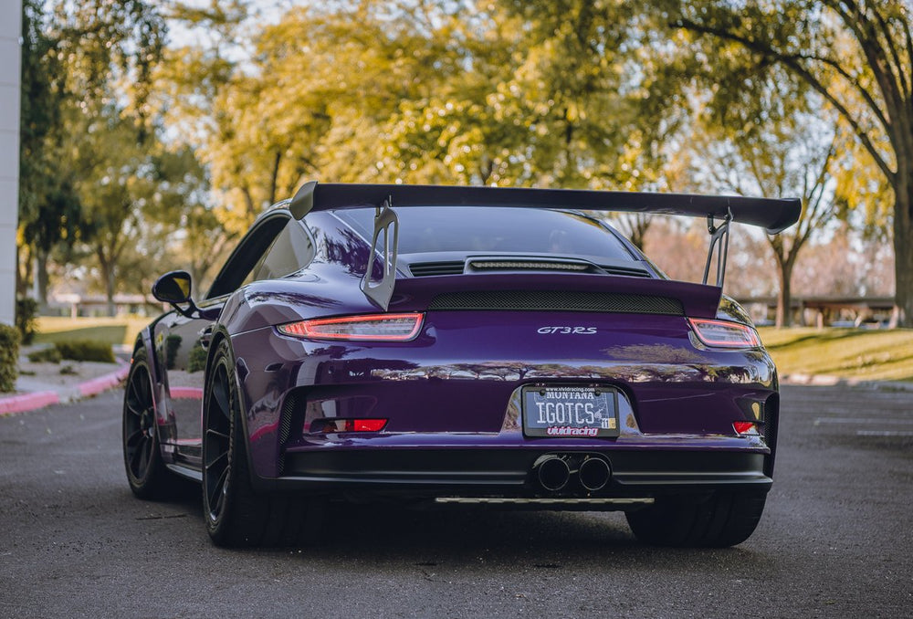 AP 14-16 Porsche 991 GT3/RS Valved Catback Exhaust System - Black - AUTOcouture Motoring - Exhaust - Agency Power
