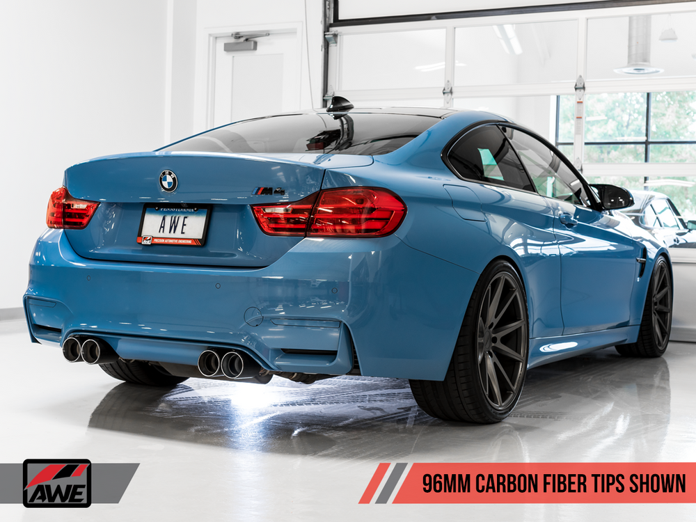 AWE Tuning BMW F8X M3/M4 Track Edition Exhaust - AUTOcouture Motoring - Exhaust - AWE Tuning