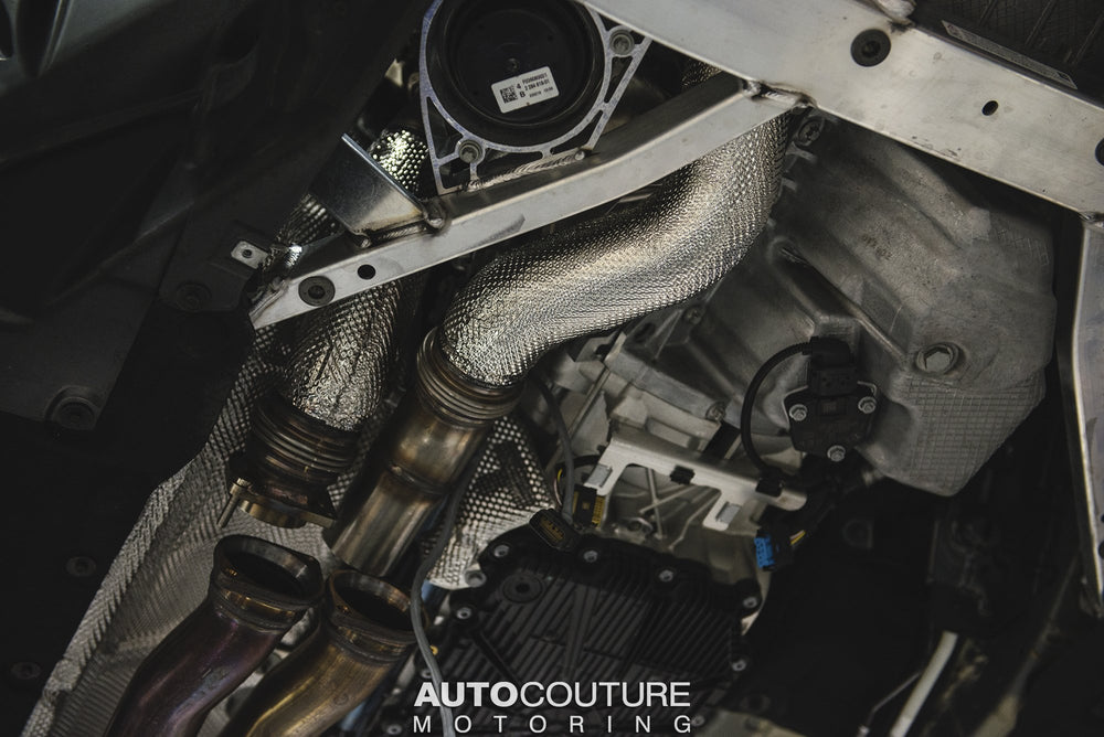 Akrapovic 2018+ BMW M2 Competition (F87N) DownPipe (SS) - AUTOcouture Motoring - Exterior - Akrapovic