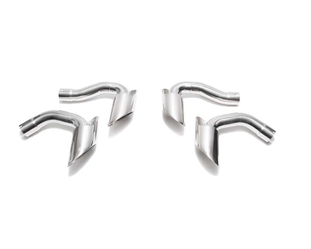 ARMYTRIX Stainless Steel Valvetronic Exhaust System w/Quad Chrome Silver Tips Lamborghini Urus 4.0L V8 2018+ - AUTOcouture Motoring - Exhaust - Armytrix