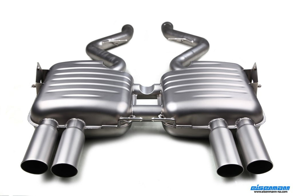 Eisenmann E90 M3 Inconel Performance Exhaust - AUTOcouture Motoring - Exhaust - Eisenmann