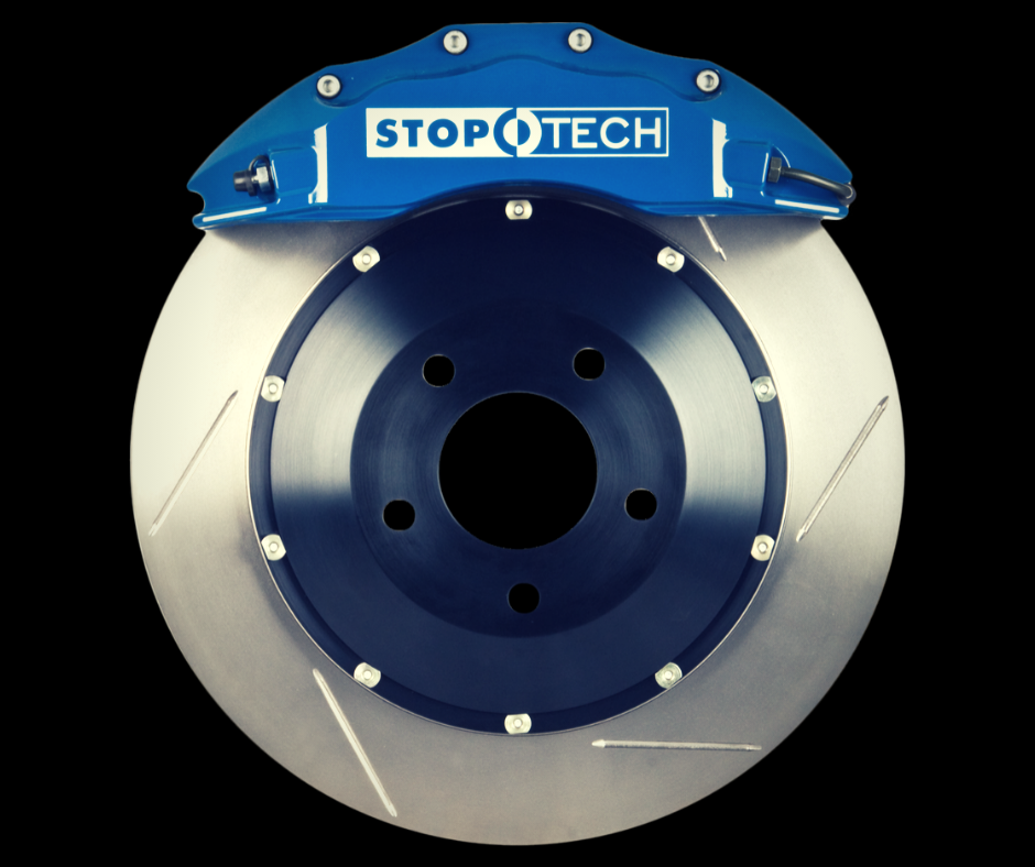 StopTech 14+ BMW M3/M4 (F8X) Front Big Brake Kit ST-60 Calipers 380x32mm Rotors - AUTOcouture Motoring - Brakes - Stoptech
