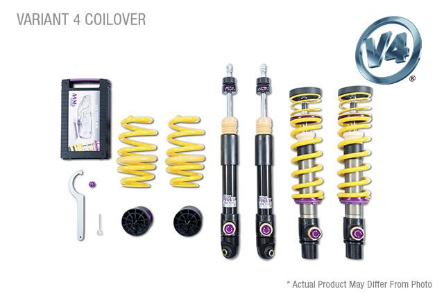 KW Coilover Kit V4 Kit 2011+ Lamborghini Aventador Incl Roadster w/ Electronic Dampers - AUTOcouture Motoring - Suspension - KW