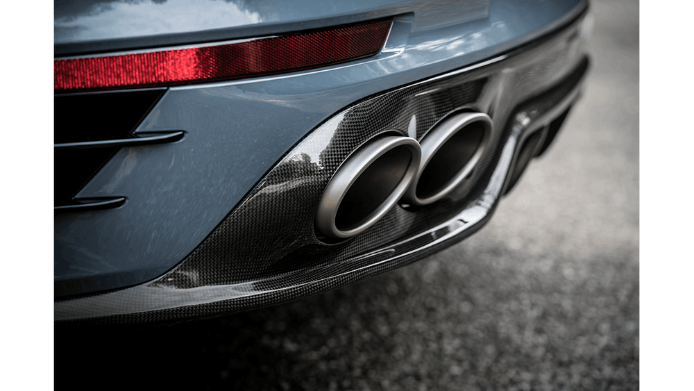 Akrapovic 16-17 Porsche 911 Turbo/Turbo S (991.2) Slip-On Line (Titanium) (Req. Tips/Diffuser) - AUTOcouture Motoring - Exhaust - Akrapovic