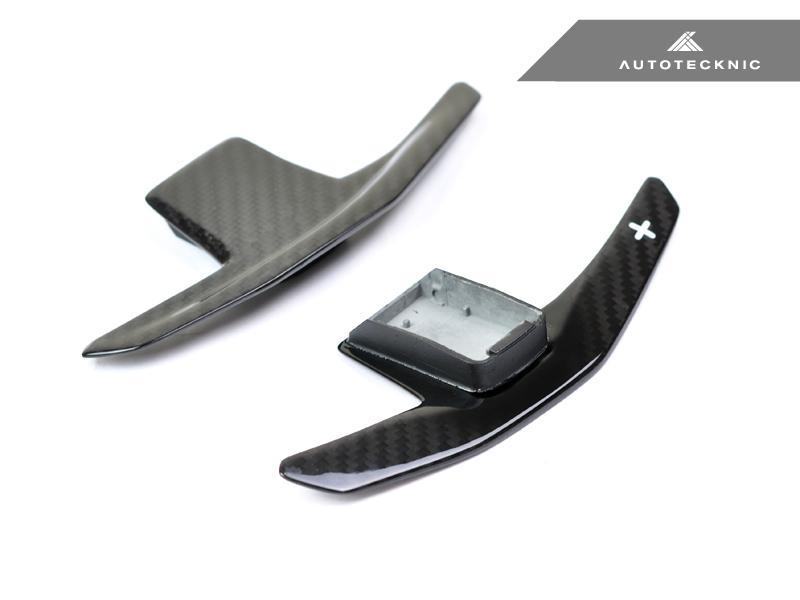 AutoTecknic Pre-Preg Dry Crabon Competition Shift Paddles Nissan R35 GT-R 17-20 - AUTOcouture Motoring - Interior - AutoTecknic