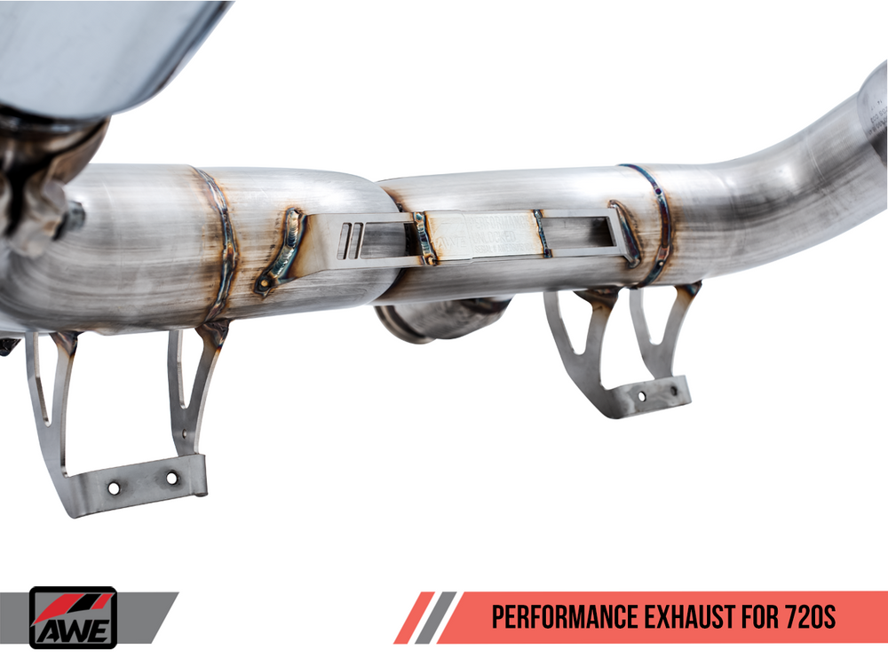 AWE Tuning McLaren 720S Performance Exhaust - OEM Tips - AUTOcouture Motoring - Exhaust - AWE Tuning
