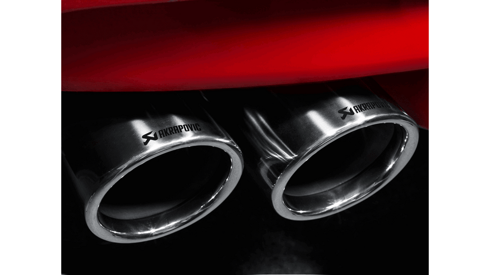Akrapovic 13-17 BMW M6 Gran Coupe (F06) Evolution Line Cat Back (Titanium) w/ Titanium Tips - AUTOcouture Motoring - Exhaust - Akrapovic