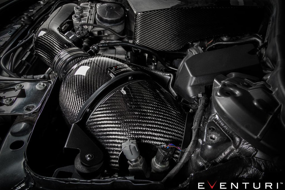 Eventuri N55 Sealed Carbon Duct for version 1 Intake System - AUTOcouture Motoring - Intake - Eventuri