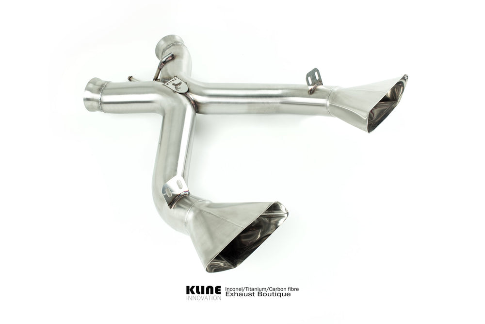 Kline Innovation Rear System McLaren 650S - AUTOcouture Motoring - Exhaust - Kline