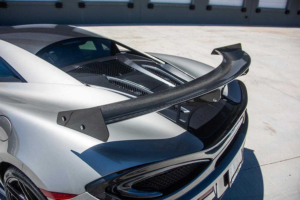 Agency Power Carbon Fiber GT4 Style Rear Spoiler McLaren 570S / 570GT - AUTOcouture Motoring - Exterior - Agency Power