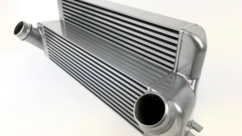 CSF 15-18 BMW M2 (F87) N55 High Performance Stepped Core Bar/Plate Intercooler - Black - AUTOcouture Motoring - Engine - CSF