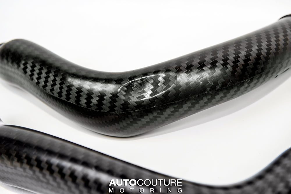 Eventuri F8X (S55) Carbon Charge Pipe Set
