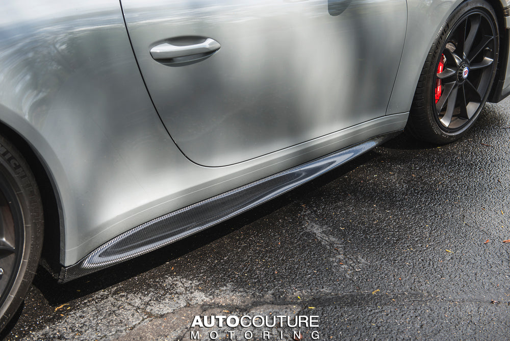 RSC Tuning CARBON SIDE SKIRTS FOR PORSCHE 991.1 AND 991.2 - AUTOcouture Motoring - Exterior - RSC Tuning