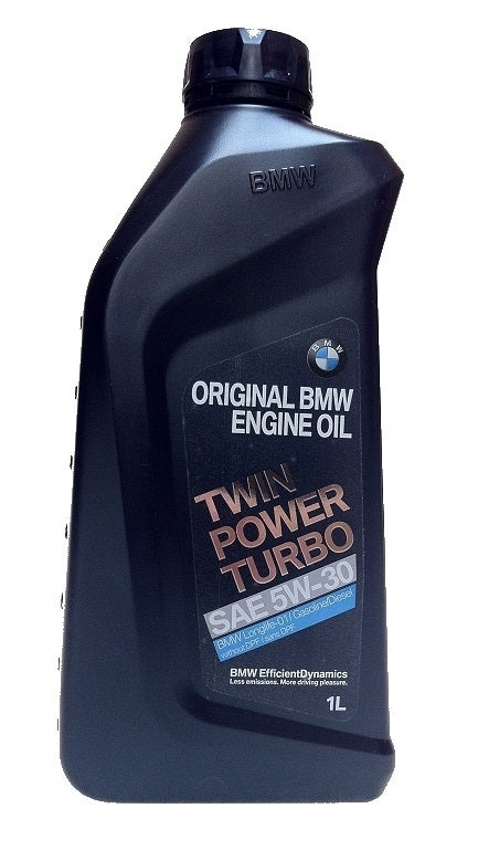 Oem Bmw Twinpower Turbo 5w 30 Engine Oil 1 Liter Autocouture Motoring
