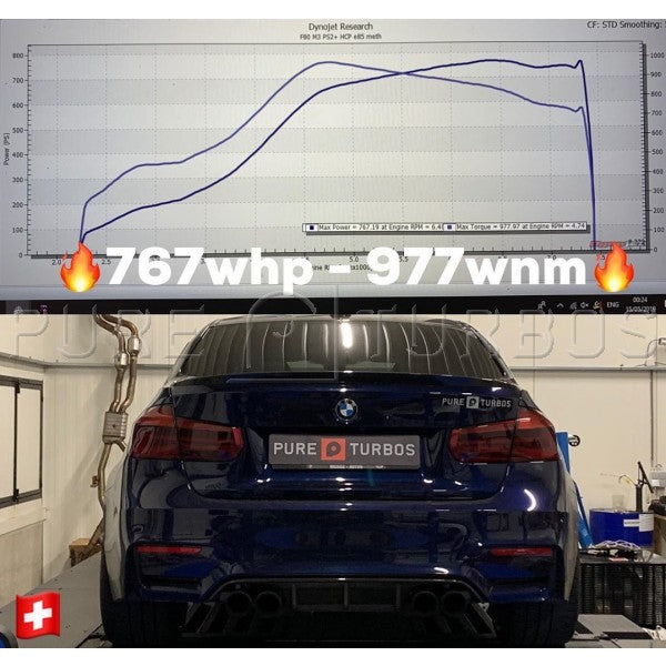 Pure Turbos BMW M2/M3/M4 S55 PURE Stage 2+ Upgrade Turbos - AUTOcouture Motoring - Engine - Pure Turbo