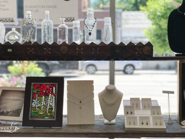 Laura Tanner Jewelry Now at Evanston Art Center