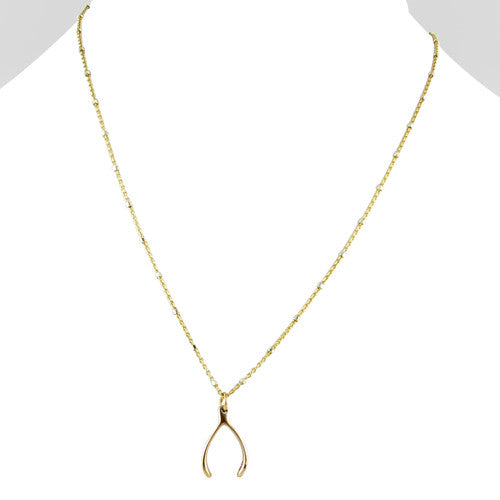 Sale tiny wishbone necklace gold laura tanner jewelry sale tiny wishbone necklace gold aloadofball Gallery
