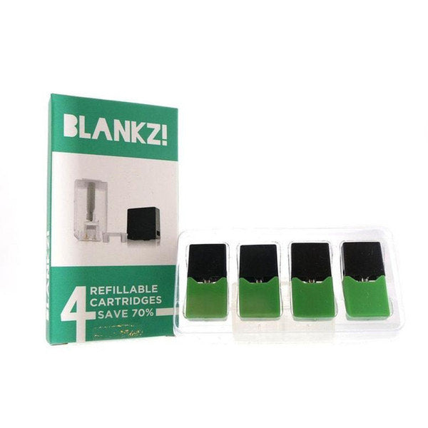 BLANKZ! Refillable Pods (Compatible with Juul)