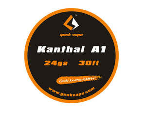 Kanthal A1 Wire 24ga/30ft by GEEKVAPE