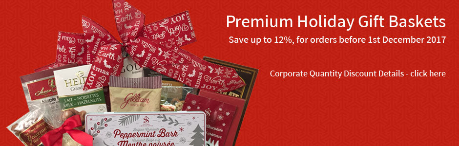 Corporate Discount Gift Baskets Toronto