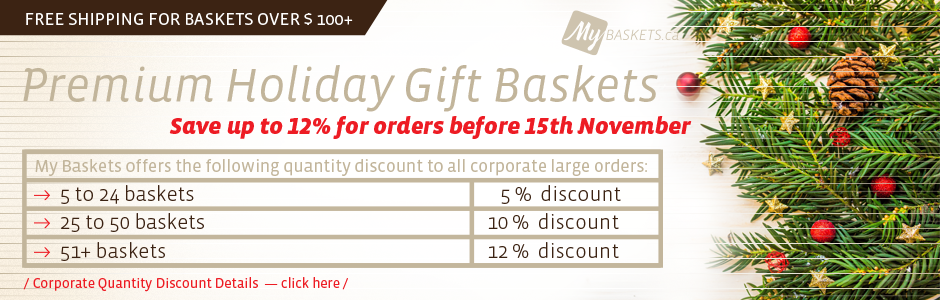 Christmas Baskets Corporate Discount