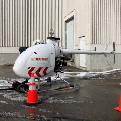 Drone gift delivery Canada