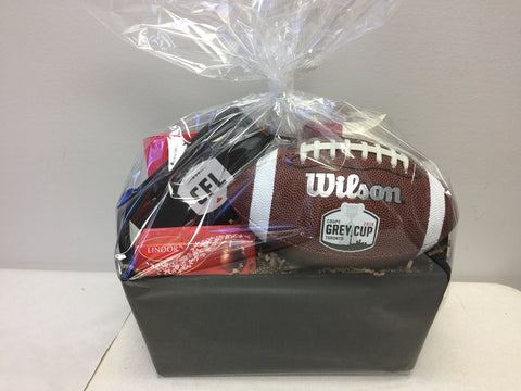 Football custom gift baskets