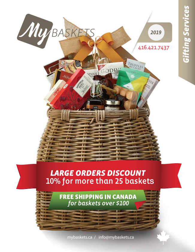 Christmas Gift Baskets 2019.Gift Baskets Catalog My Baskets
