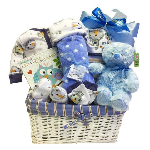Welcome New Baby Boy. Welcome Baby Boy Gift Basket ...  sc 1 st  My Baskets & Gift Baskets Delivery Canada Sending Gift Baskets to Canada. | MY ...