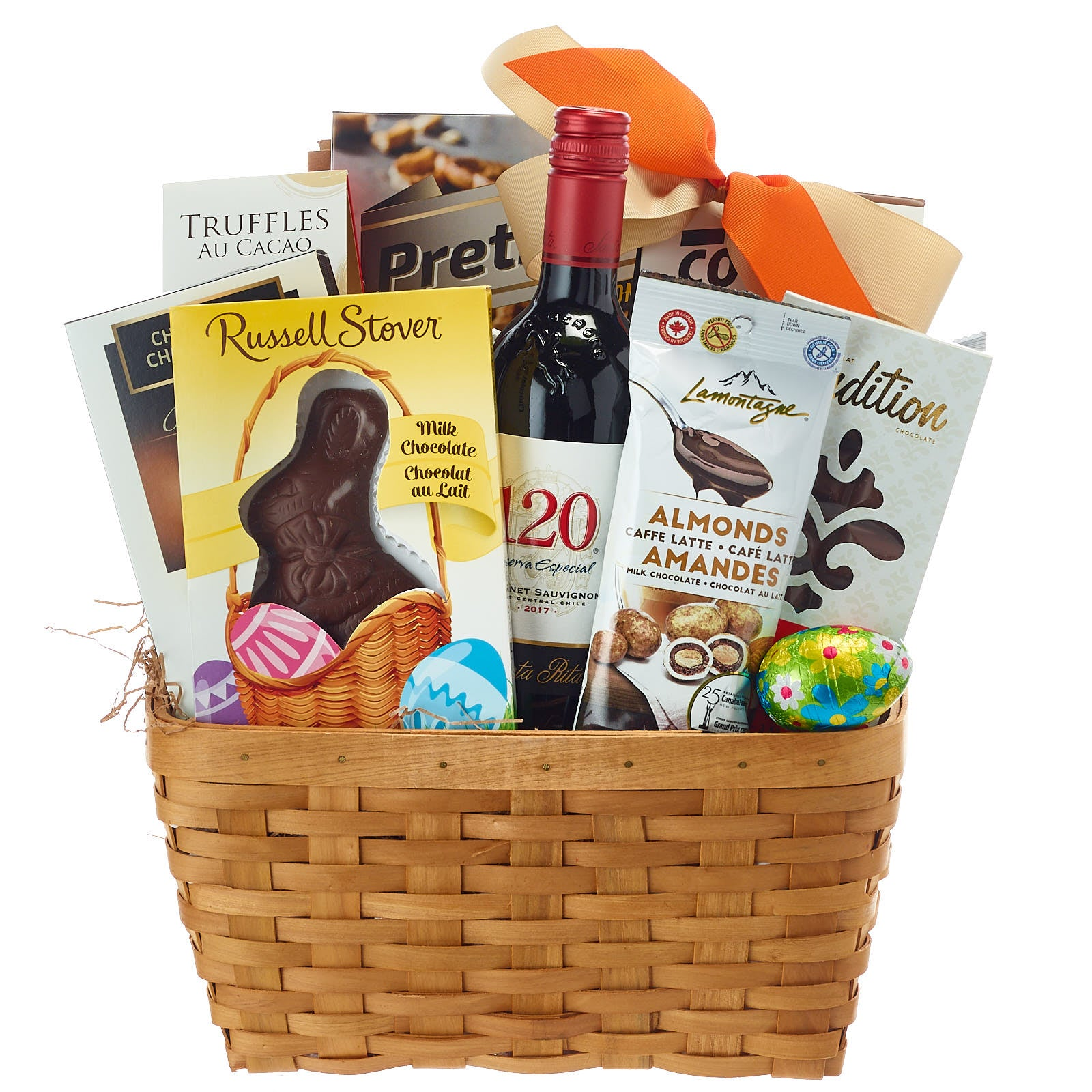 Easter Wine Gift Basket