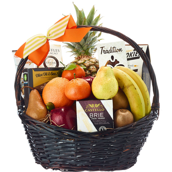 Fruit And Cheese Gift Baskets